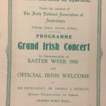 INA concert programme