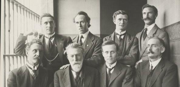 Irish internees photo
